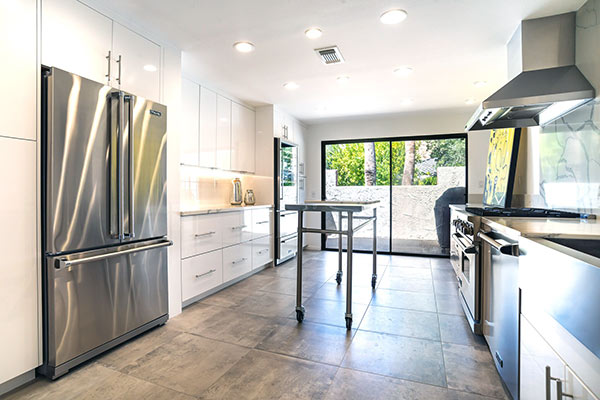 The Mesa House Kitchen Remodel - Palm Springs